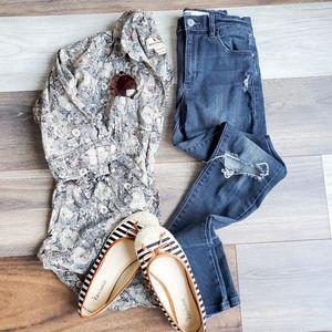 Garage black jeans